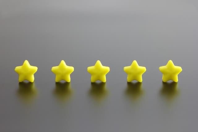 星5つ評価